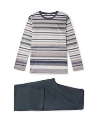 Zimmerli | Gray Mercerised Cotton-jersey Pyjama Set for Men | Lyst