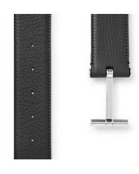 Tom Ford - 4cm Black Full-grain Leather Belt for Men - Lyst