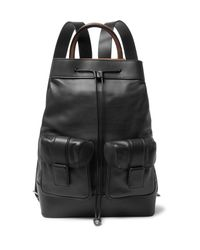 Berluti - Black Horizon Leather Backpack for Men - Lyst