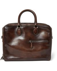 Berluti - Brown Formula 1001 Leather Holdall Bag for Men - Lyst