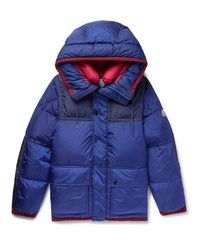 Moncler - Blue Empire K2 Panelled Quilted Shell Down Jacket for Men - Lyst