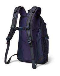 Visvim - Blue Suede-trimmed Cordura Nylon Backpack for Men - Lyst