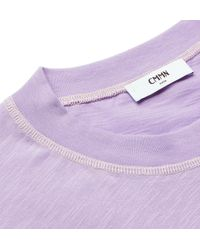Cmmn Swdn - Purple Ridley Cotton-jersey T-shirt for Men - Lyst
