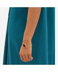 Mulberry - Metallic Locket Bracelet - Lyst