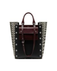 Mulberry | Black Alexa Quilted Denim Bag | Lyst