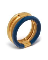 Mulberry - Blue Triple Ring - Lyst