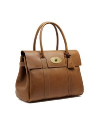 Mulberry - Brown Bayswater Leather Bag - Lyst
