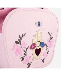 Meli Melo | Pink Rosetta Cross Body Bag | Lyst