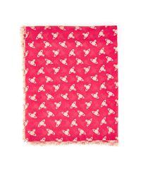 Vivienne Westwood - Pink Mantero Wool Scarf - Lyst