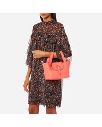 meli melo - Red Thela Mini Floater Bag - Lyst