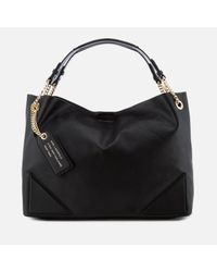 Karl Lagerfeld - Black K/slouchy Shopper Bag - Lyst