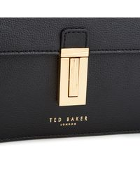 Ted Baker - Black Elyssa Crossbody Bag - Lyst