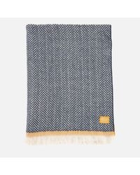 Joules - Blue Twilby Soft Scarf - Lyst
