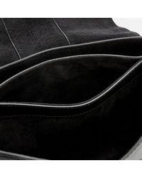 MICHAEL Michael Kors - Black Lillie Medium Flap Messenger Bag - Lyst