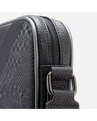 Ted Baker - Black Heliox Embossed Mini Flight Bag for Men - Lyst