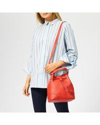 Furla - Red Stacy Small Drawstring Bag - Lyst