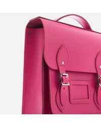 Cambridge Satchel Company - Pink Small Portrait Backpack - Lyst