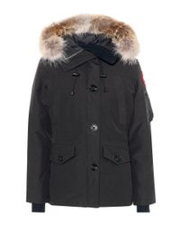 Canada Goose - Black Montebello Down Jacket - Lyst