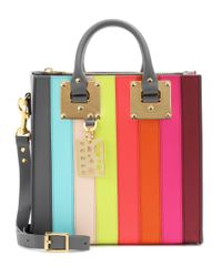 Sophie Hulme - Multicolor Albion Square Rainbow Leather Shoulder Bag - Lyst