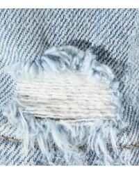 Saint Laurent - Blue High-rise Skinny Jeans - Lyst