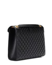 Saint Laurent - Black Large Monogram Envelope Shoulder Bag - Lyst