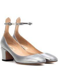 Valentino | Metallic Garavani Tan-go Leather Pumps | Lyst