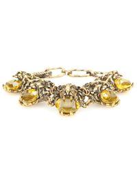 Gucci - Metallic Embellished Bracelet - Lyst