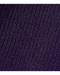Unravel - Purple Wool And Cashmere Sweater - Lyst