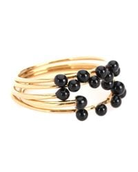 Isabel Marant - Metallic Stacked Rings - Lyst