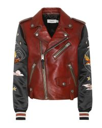 COACH - Brown Leather Jacket - Lyst
