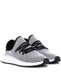 Adidas Originals deerupt Runner zapatillas en blanco Lyst