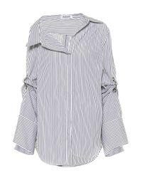 Monse - Blue Striped Cotton Shirt - Lyst