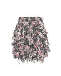 Étoile Isabel Marant - Multicolor Jockey Printed Skirt - Lyst
