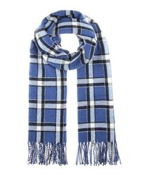Marc By Marc Jacobs | Blue Toto Plaid Scarf | Lyst