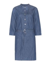 Marc By Marc Jacobs   Blue Chambray Dress   Lyst