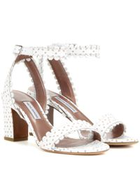 Tabitha Simmons - White Leather Leticia Ankle - Lyst