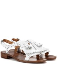 Church's - White Oribella Leather Sandals - Lyst