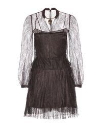Valentino | Multicolor Silk Lace Dress | Lyst