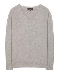 Loro Piana - Gray Scollo V Franklin Cashmere Sweater - Lyst
