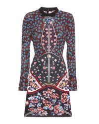 Mary Katrantzou - Metallic Kolbert Printed Silk Dress - Lyst