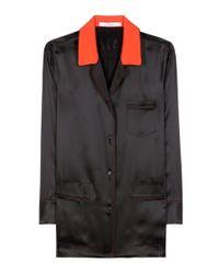 Givenchy | Black Silk Shirt | Lyst