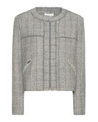 Étoile Isabel Marant   Gray Laura Wool-blend Jacket   Lyst