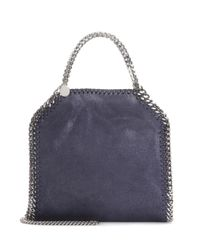 Stella McCartney | Blue Falabella Mini Tote | Lyst
