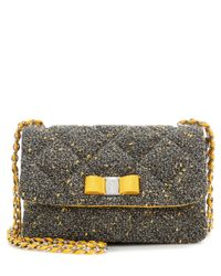 Ferragamo | Multicolor Gelly Quilted Fabric Shoulder Bag | Lyst
