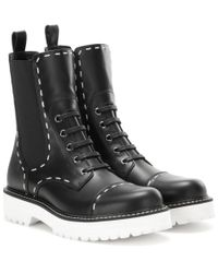 Dolce & Gabbana | Black Leather Boots | Lyst