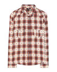 PAIGE | Multicolor Mya Check Cotton Shirt | Lyst