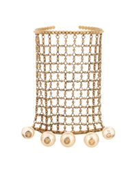 Gucci - Metallic Gold-tone Embellished Bracelet And Rings - Lyst