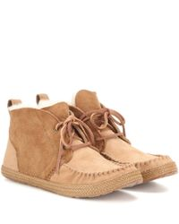 UGG | Brown Kenai Suede Shoes | Lyst