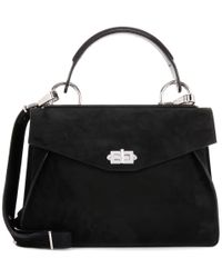 Proenza Schouler | Black Medium Hava Suede Shoulder Bag | Lyst