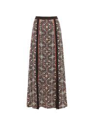 Talitha | Multicolor Raj Printed Silk-georgette Skirt | Lyst